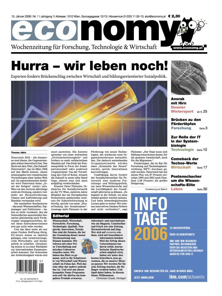 Heft Ausgabe Nr. 01 - Seite 2