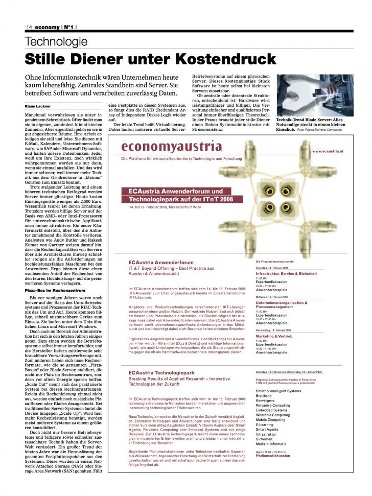 Heft Ausgabe Nr. 01 - Seite 14