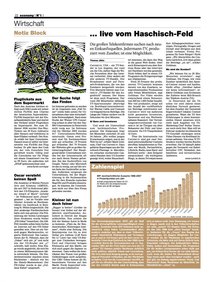 Heft Ausgabe Nr. 01 - Seite 22