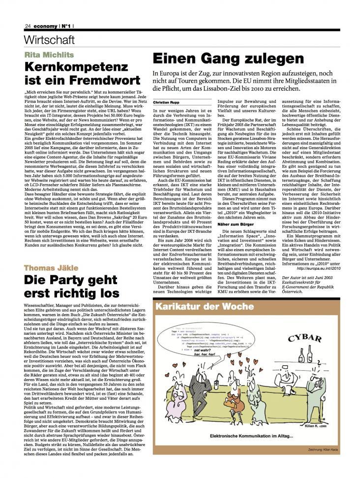 Heft Ausgabe Nr. 01 - Seite 24