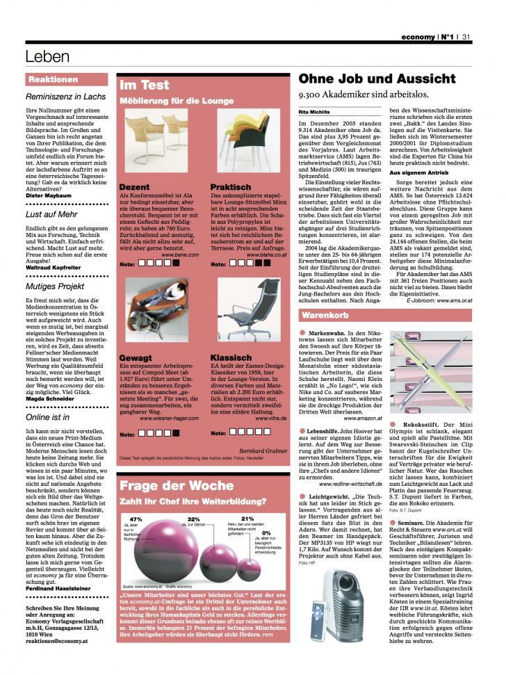 Heft Ausgabe Nr. 01 - Seite 31