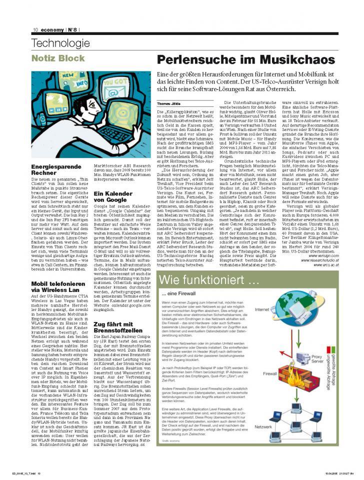 Heft Ausgabe Nr. 08 - Seite 10