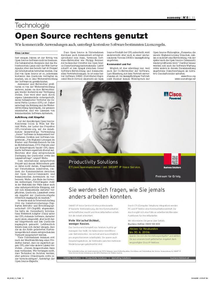 Heft Ausgabe Nr. 08 - Seite 11