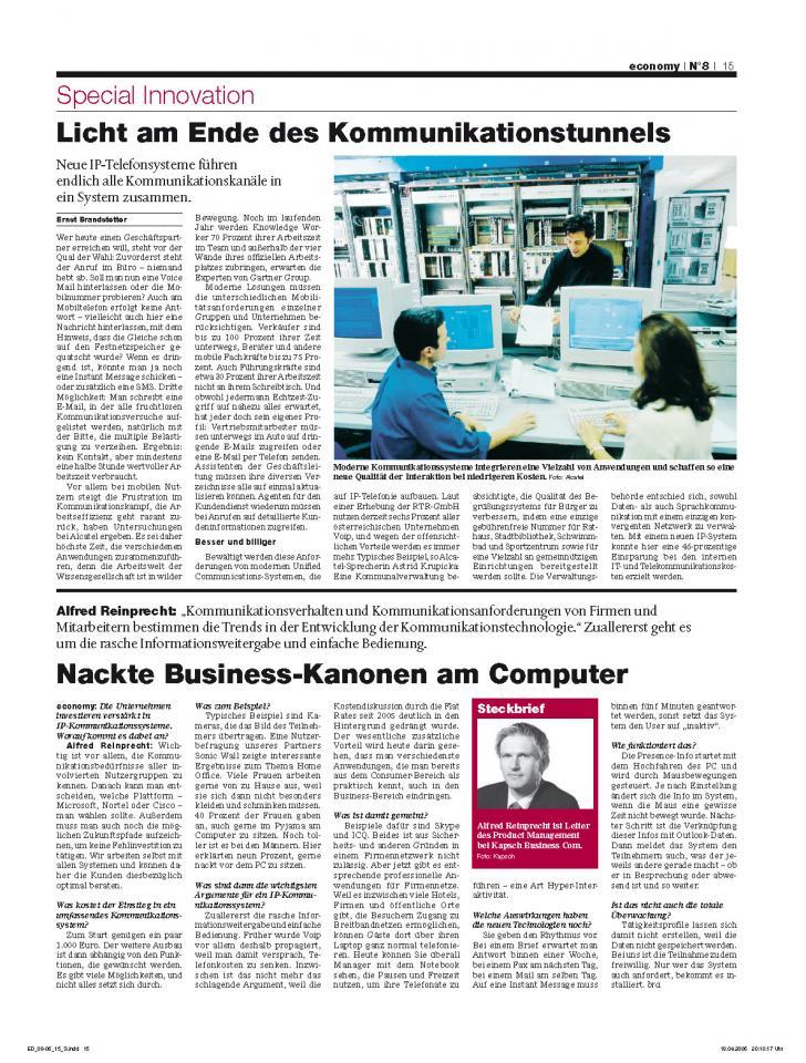 Heft Ausgabe Nr. 08 - Seite 15