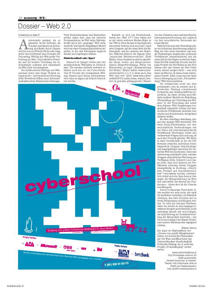 Heft Ausgabe Nr. 08 - Seite 28