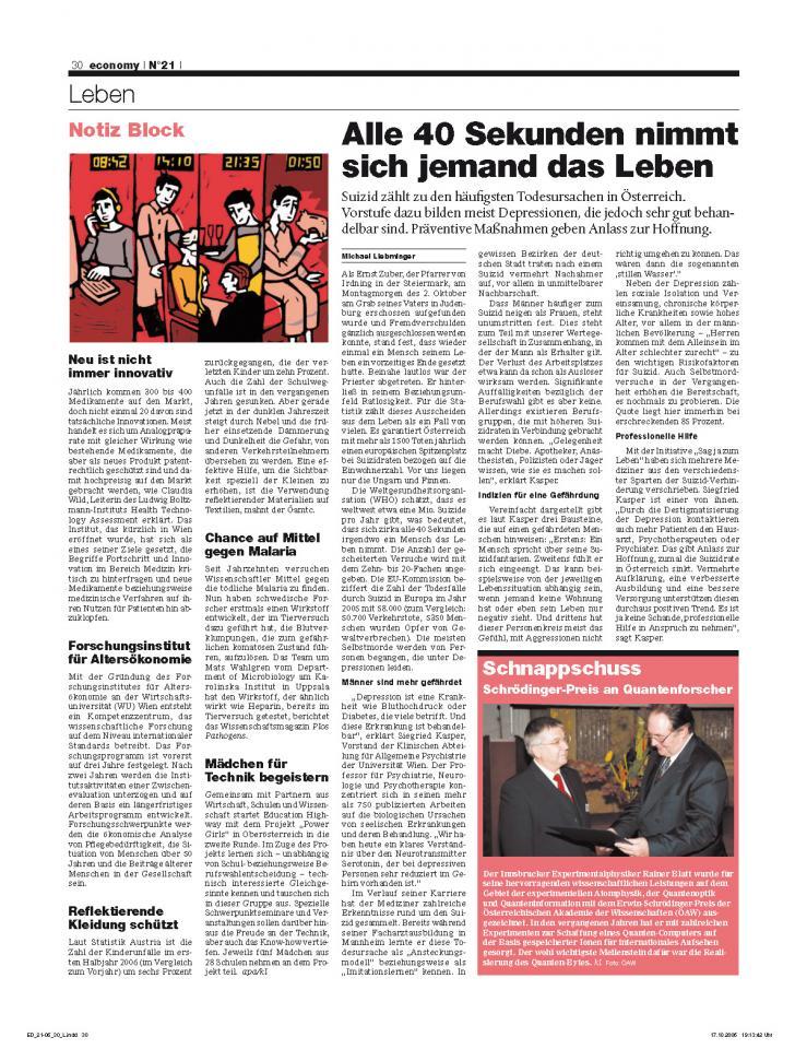 Heft Ausgabe Nr. 21 - Seite 30
