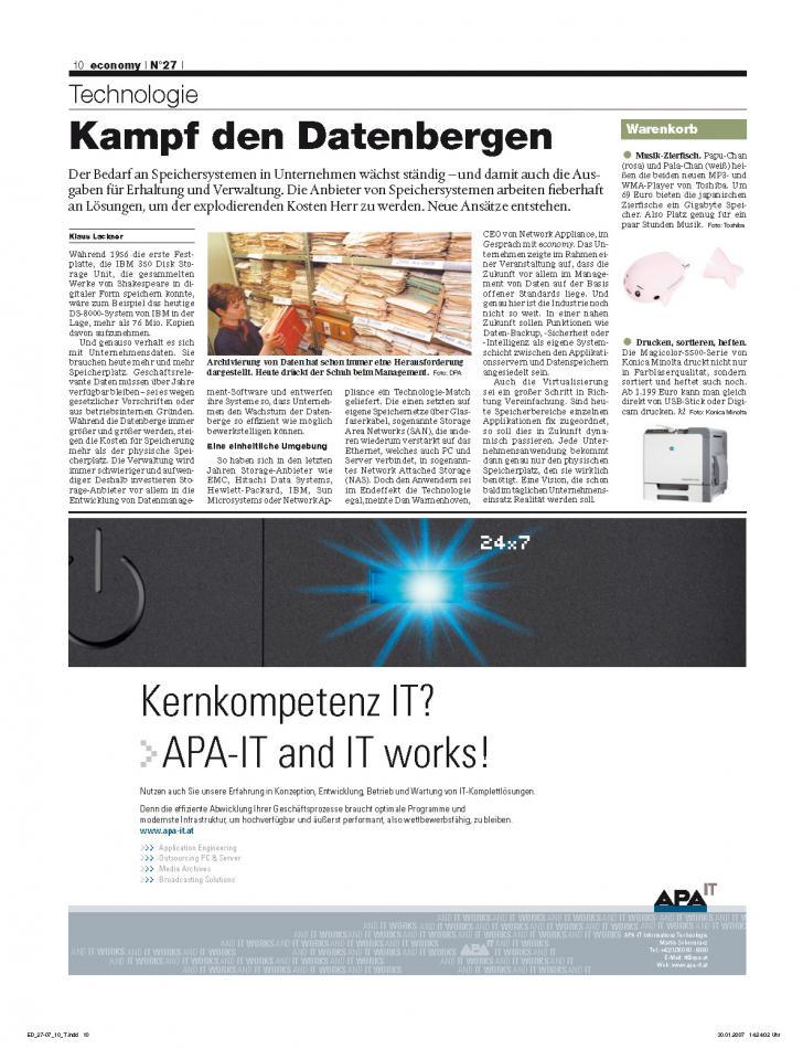 Heft Ausgabe Nr. 27 - Seite 10
