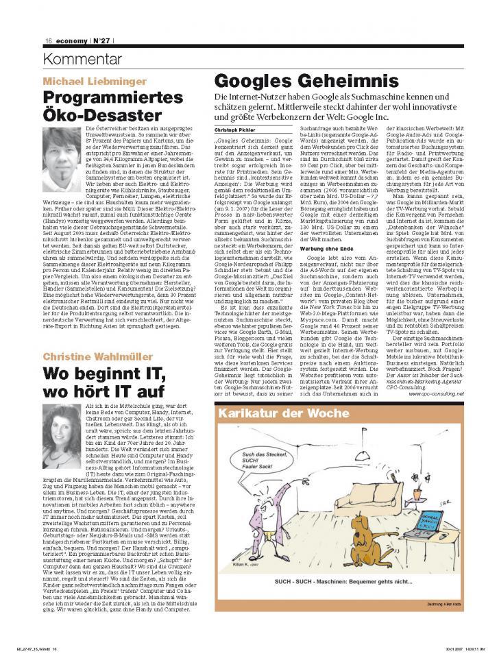 Heft Ausgabe Nr. 27 - Seite 16