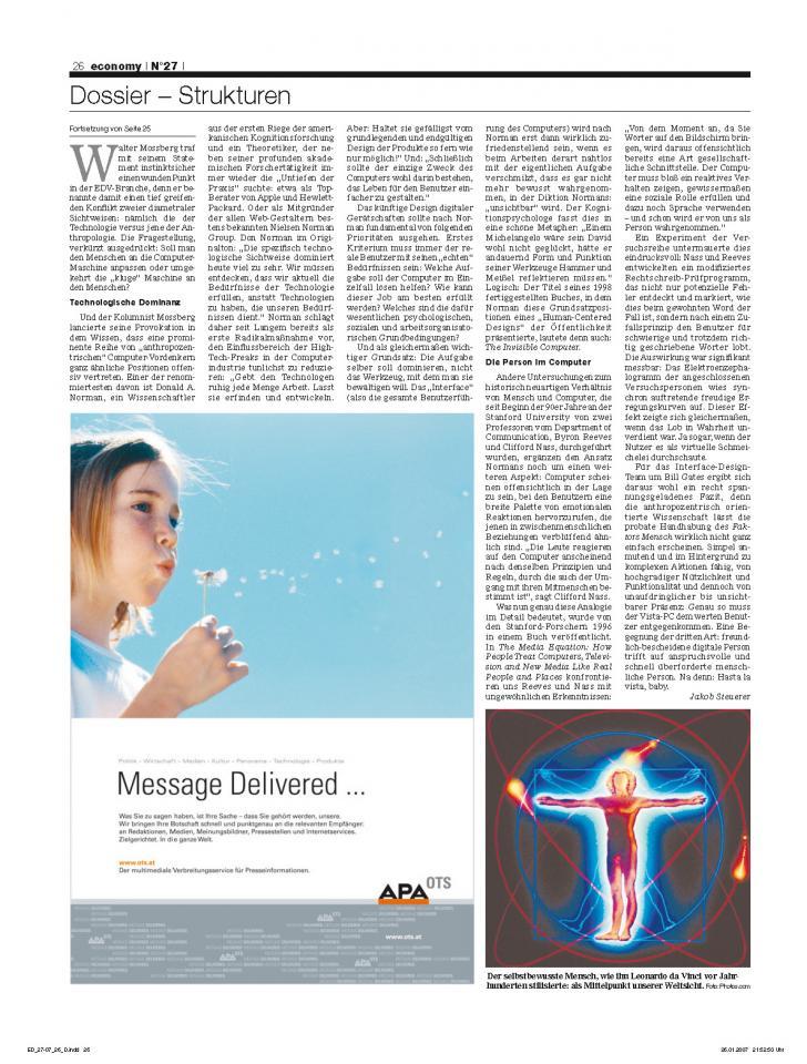 Heft Ausgabe Nr. 27 - Seite 26