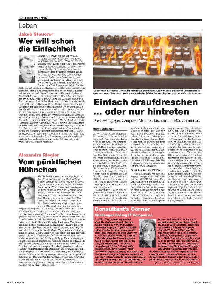 Heft Ausgabe Nr. 27 - Seite 32