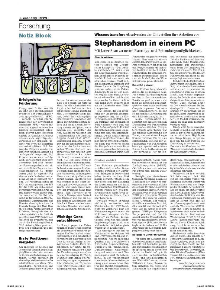 Heft Ausgabe Nr. 28 - Seite 4