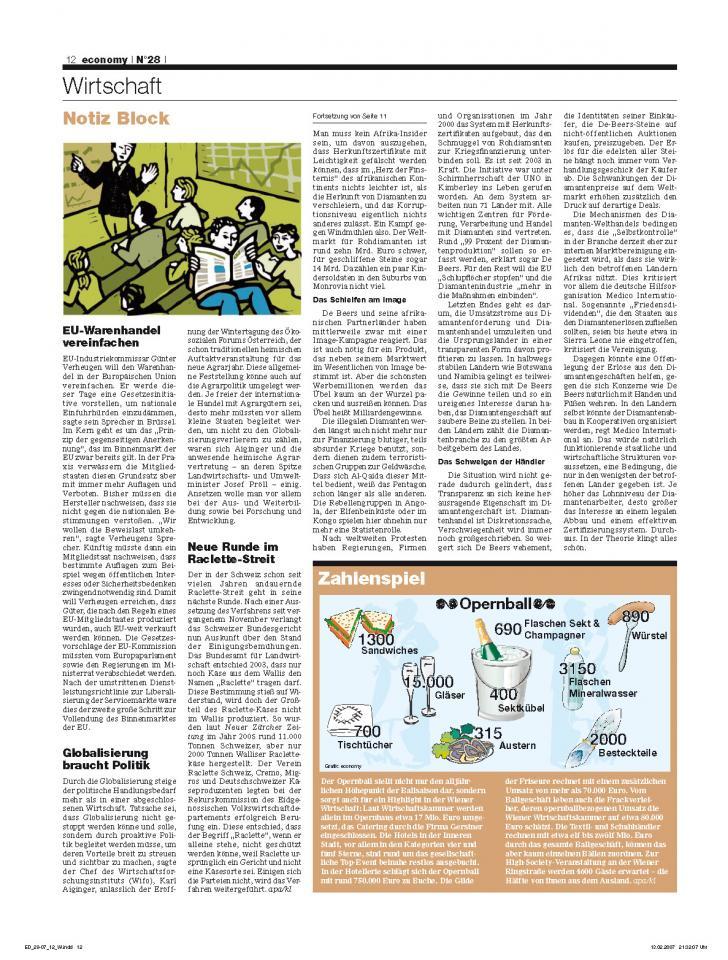 Heft Ausgabe Nr. 28 - Seite 12