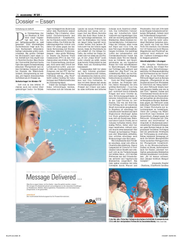 Heft Ausgabe Nr. 28 - Seite 26