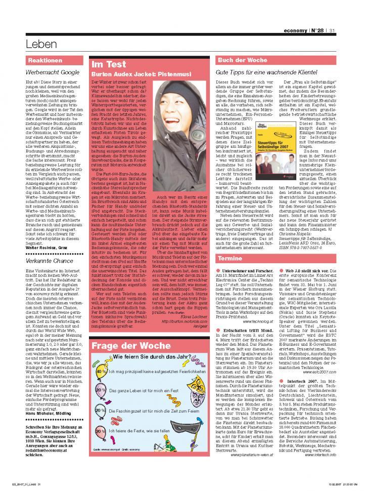 Heft Ausgabe Nr. 28 - Seite 31
