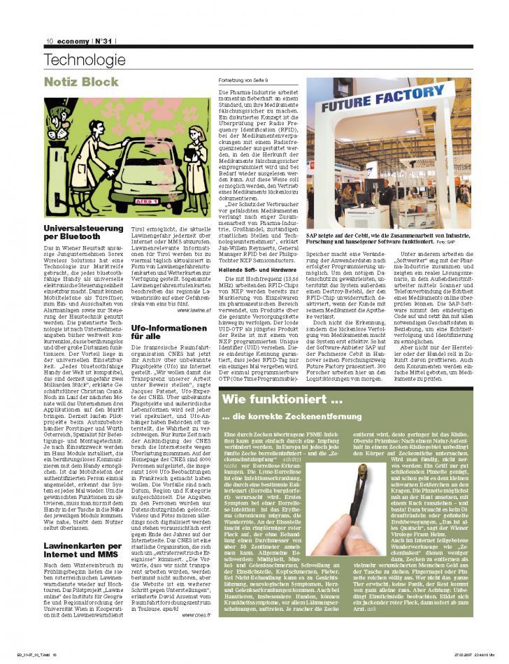 Heft Ausgabe Nr. 31 - Seite 10