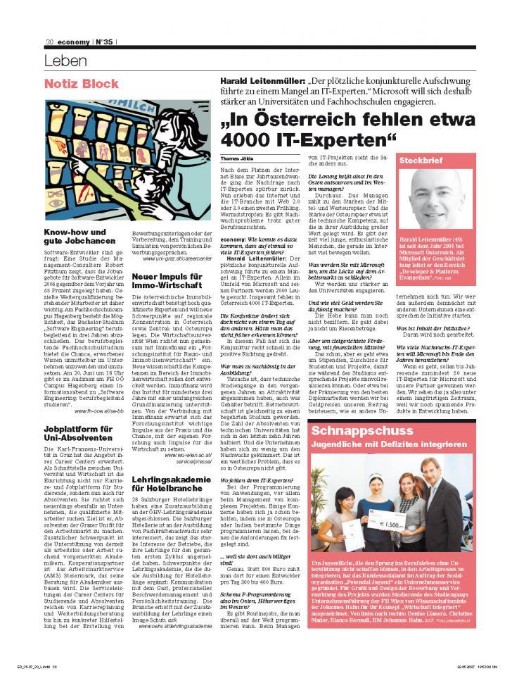 Heft Ausgabe Nr. 35 - Seite 30