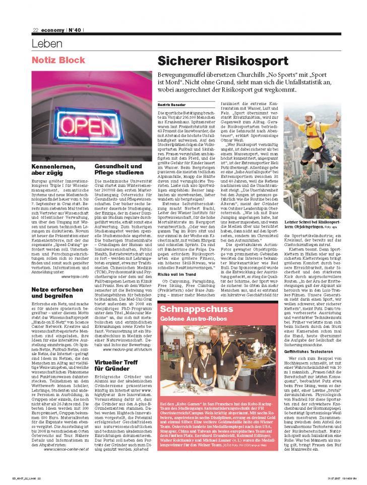 Heft Ausgabe Nr. 40 - Seite 22