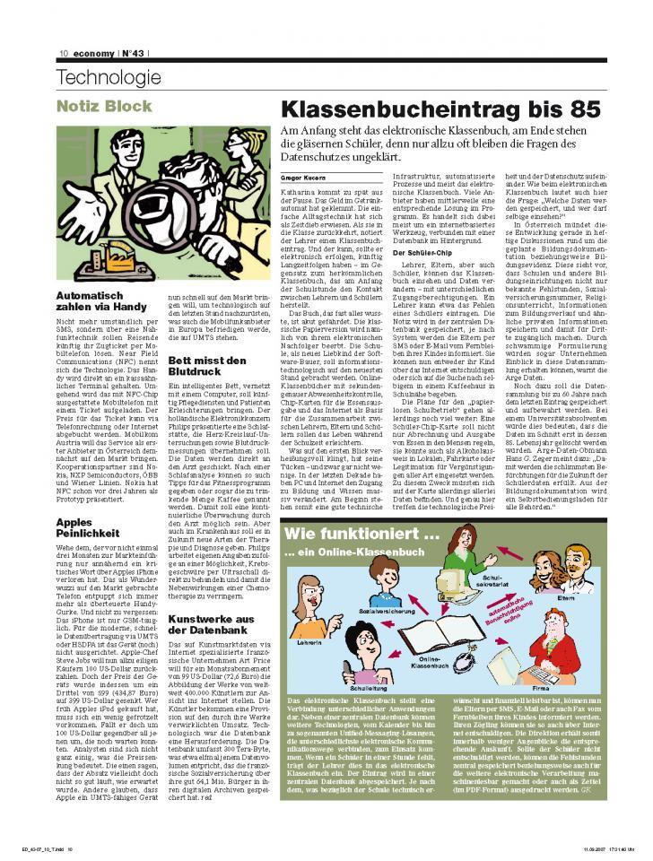 Heft Ausgabe Nr. 43 - Seite 10