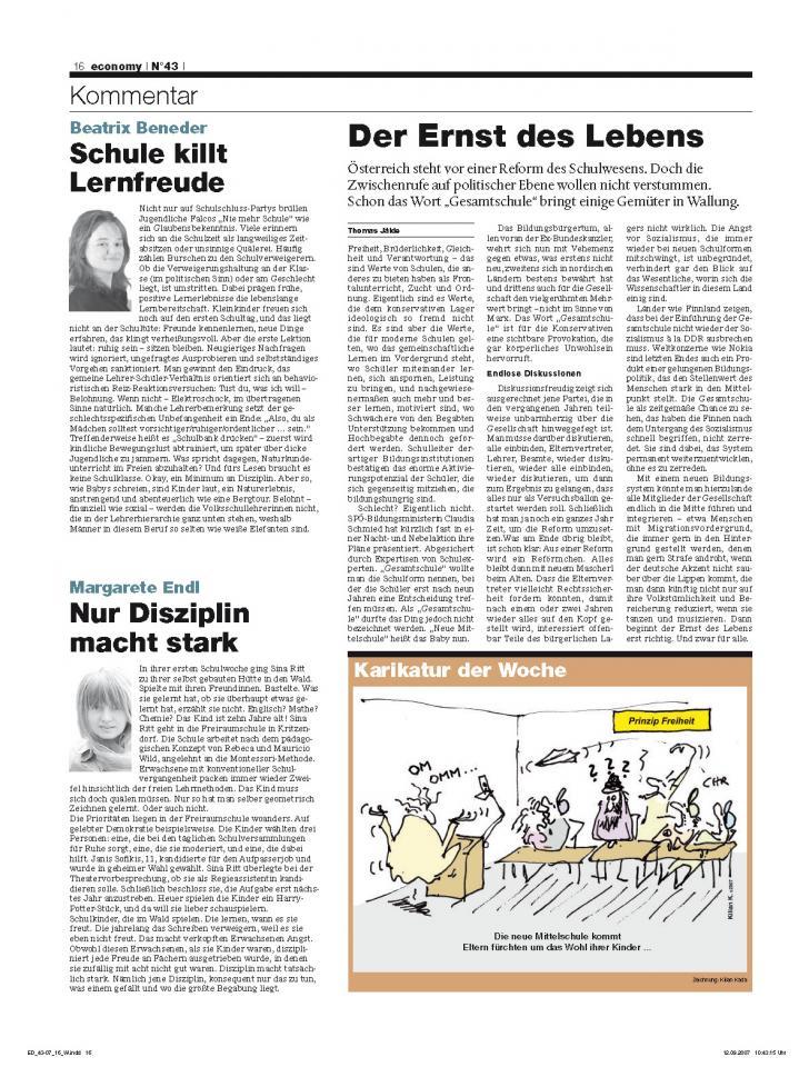 Heft Ausgabe Nr. 43 - Seite 16