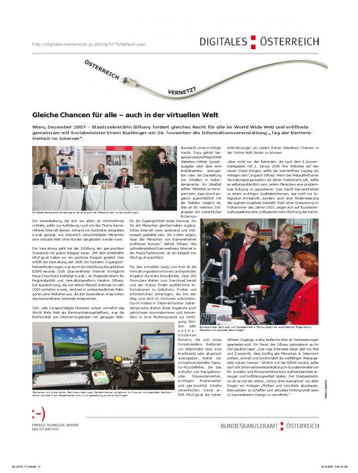 Heft Ausgabe Nr. 50 - Seite 17