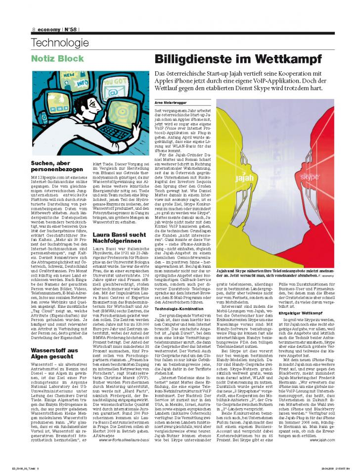 Heft Ausgabe Nr. 58 - Seite 8