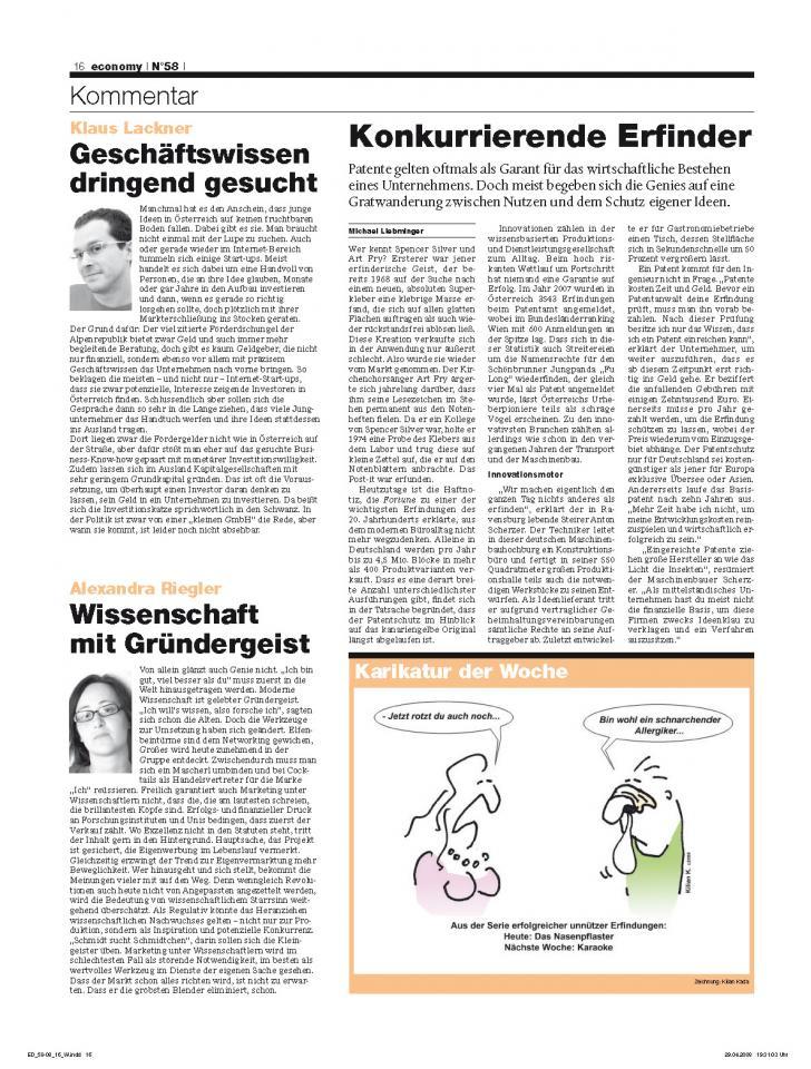 Heft Ausgabe Nr. 58 - Seite 16