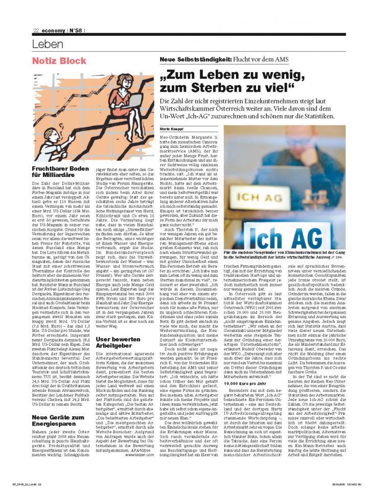 Heft Ausgabe Nr. 58 - Seite 22