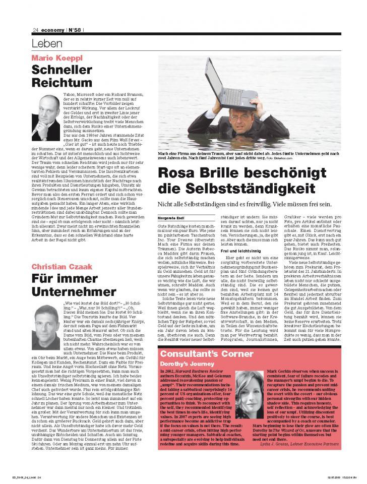 Heft Ausgabe Nr. 58 - Seite 24