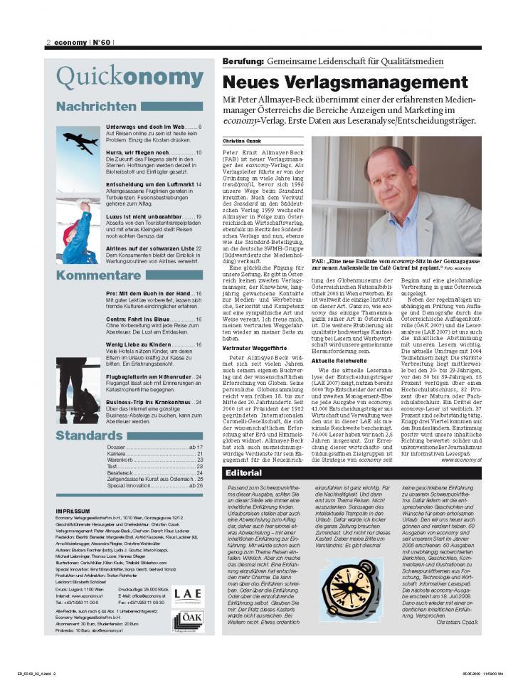Heft Ausgabe Nr. 60 - Seite 2