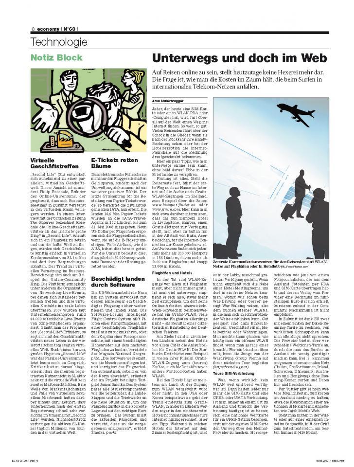 Heft Ausgabe Nr. 60 - Seite 8