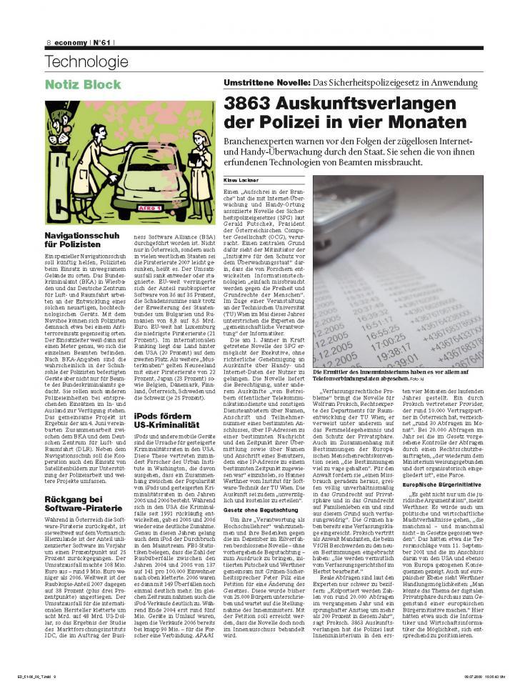 Heft Ausgabe Nr. 61 - Seite 8