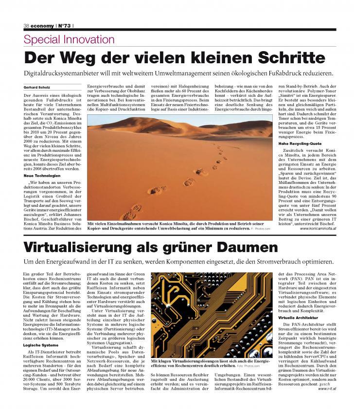 Heft Ausgabe Nr. 73 - Seite 38