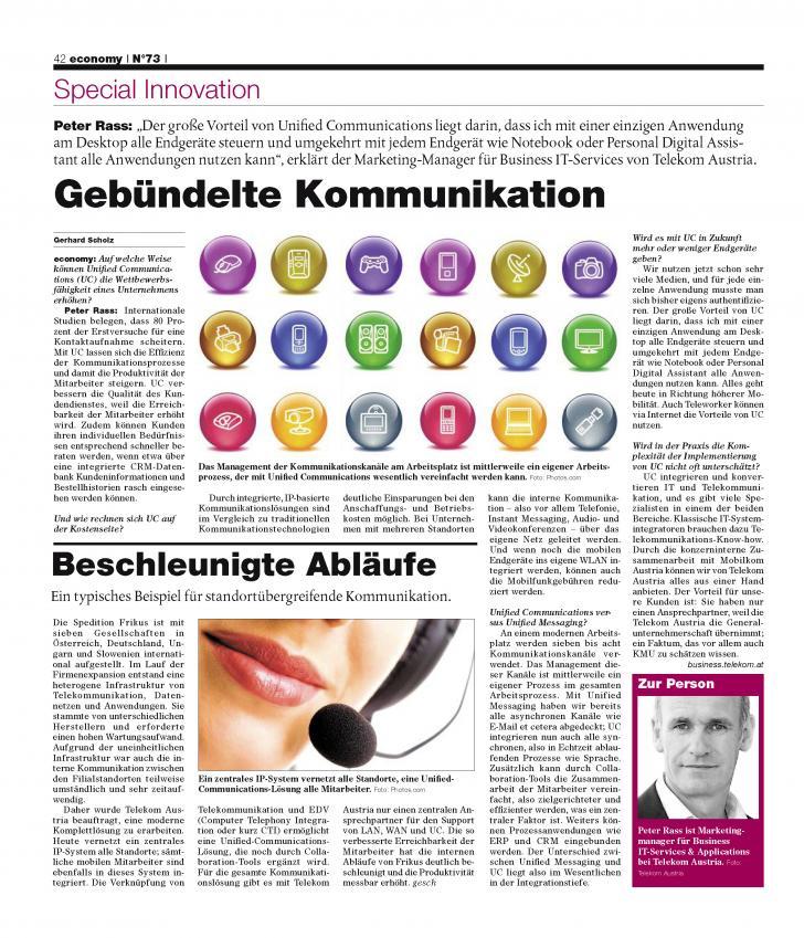 Heft Ausgabe Nr. 73 - Seite 42